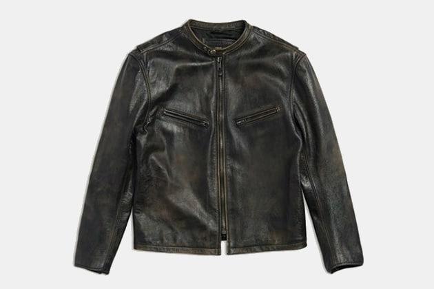 Frye Rabin Racer Leather Jacket