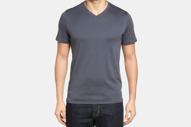 Georgia Regular Fit V-Neck T-Shirt