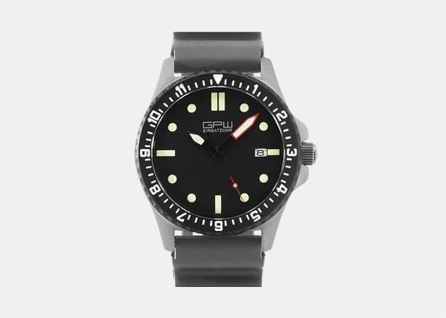 German Military Titanium Automatic Watch