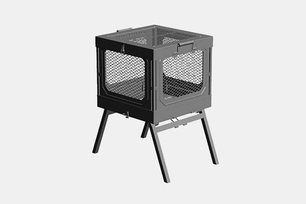 Global Outdoors Portable Fire Pit Grill