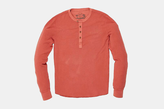Grayers Campesina Double Cloth Thermal Henley