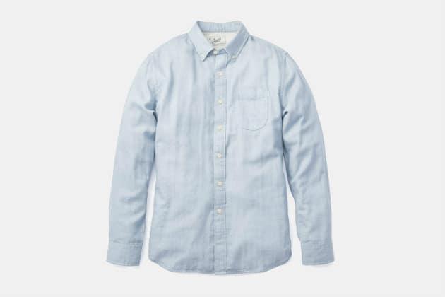Grayers Jaspe Double Cloth Shirt
