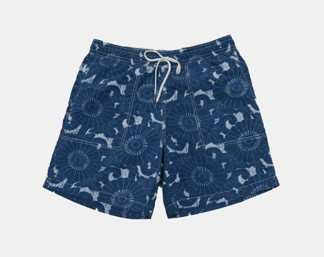 Grayers Batik Print Swim Trunk
