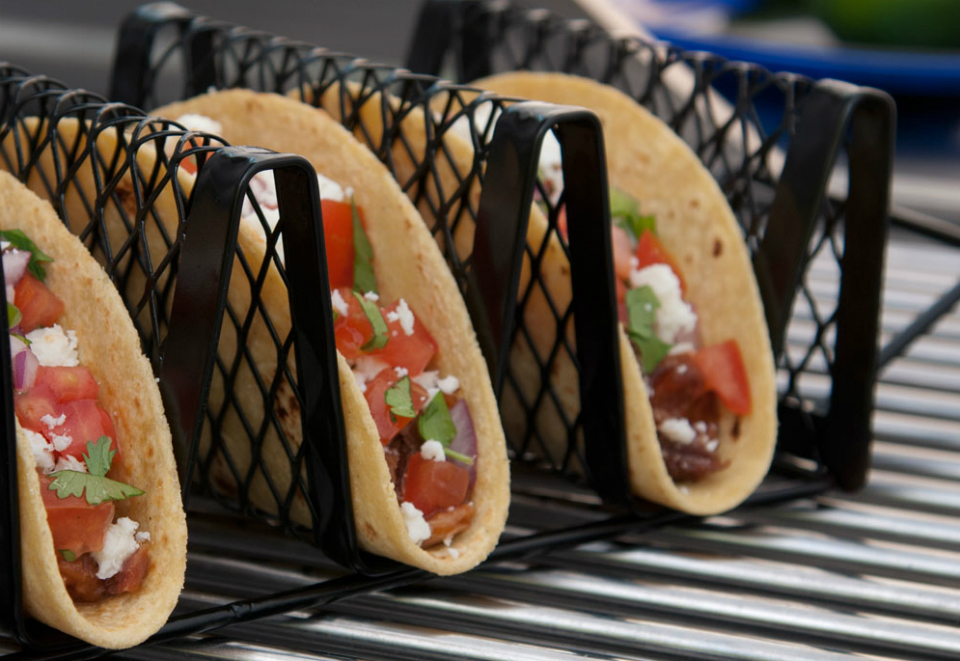 Grilled Taco Rack