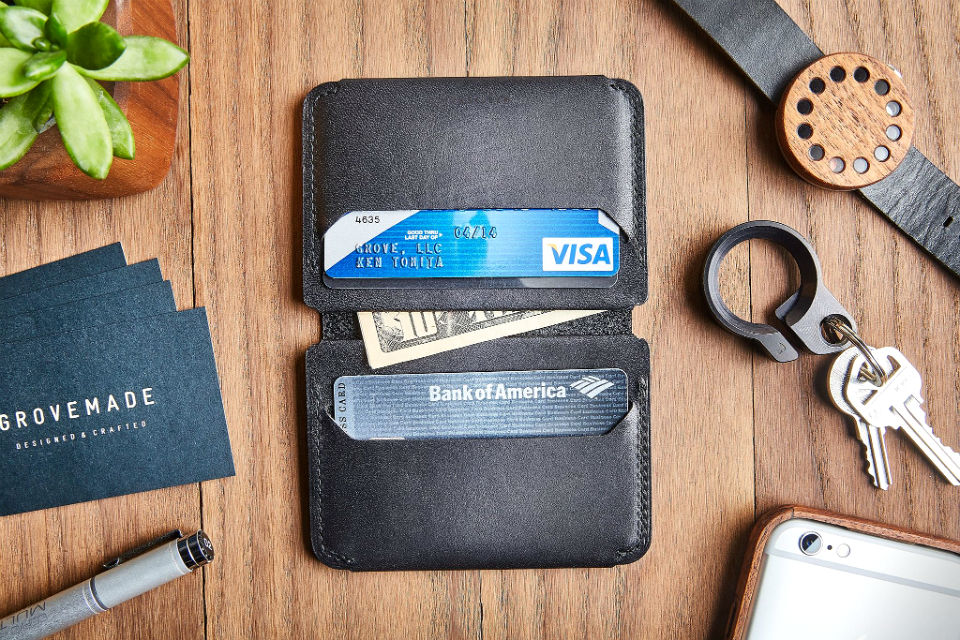 Grovemade Compact Bifold Wallet