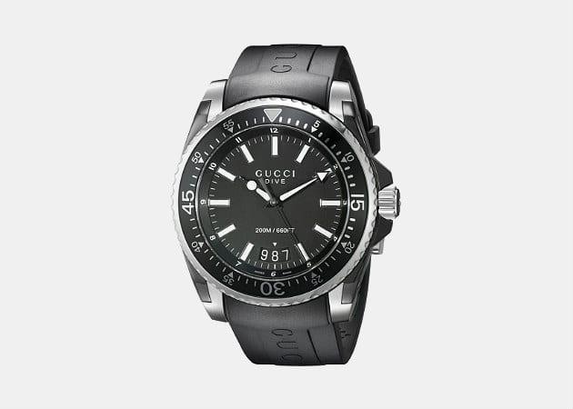 Gucci Swiss Quartz Black Watch