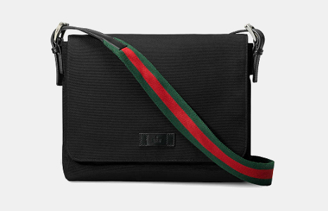Gucci Techno Canvas Messenger