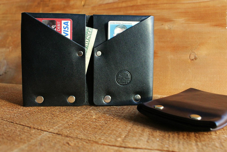 Hammer Riveted Wallet by American Bench Craft