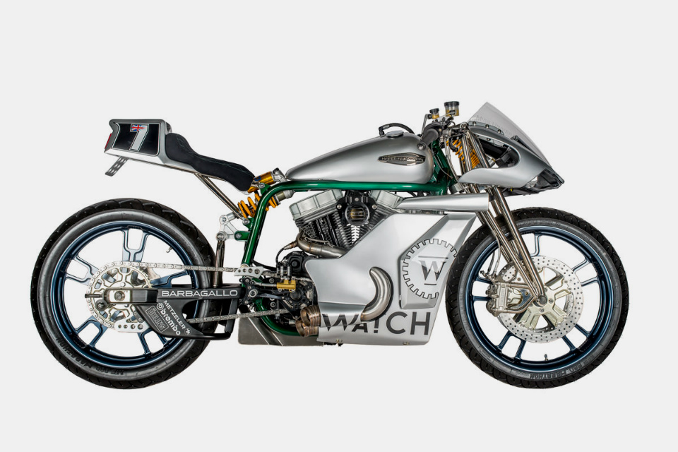 Shaw Speed 48 Custom Harley Davidson