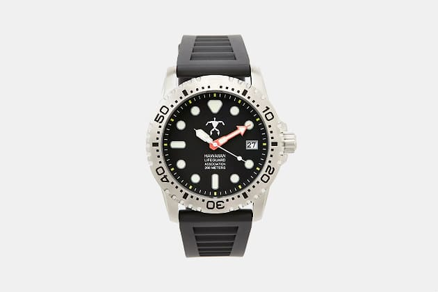 Official Hawaii Lifeguard Association Dive Watch