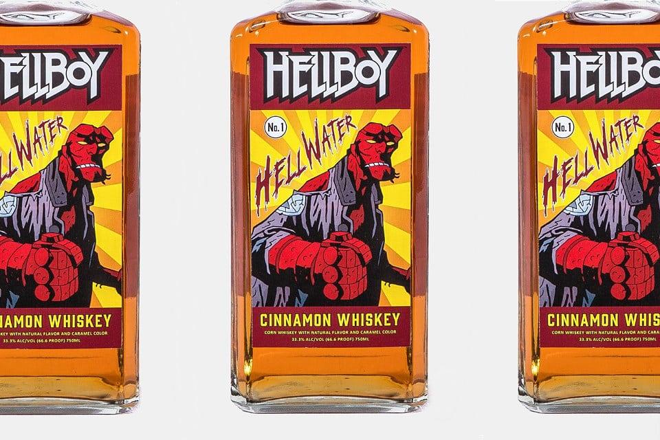 Hellboy Hellwater Cinnamon Whiskey