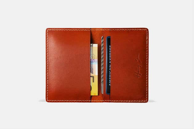 Hentley Slim Leather Bifold Wallet