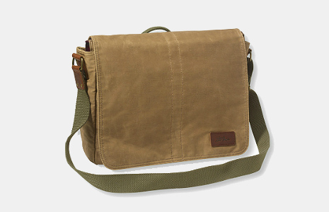 Heritage Waxed Canvas Messenger Bag