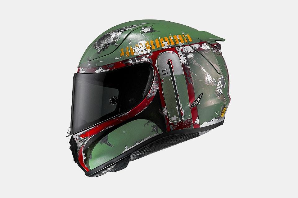 HJC Boba Fett Motorcycle Helmet