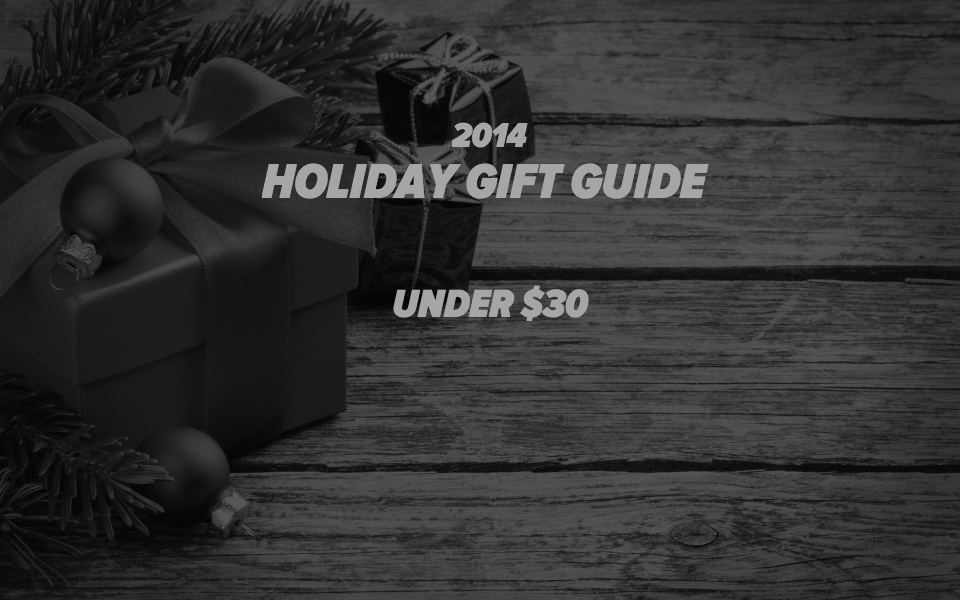 Holiday Gift Guide Under $30