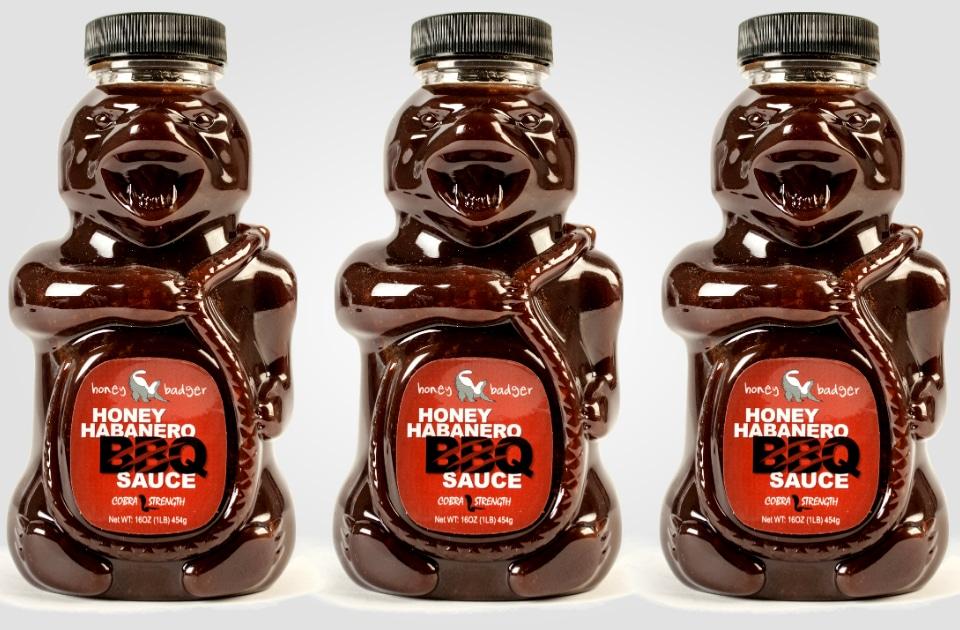 Honey Badger Habanero BBQ Sauce