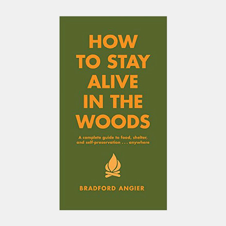 How To Stay Alive In The Woods Survival Book