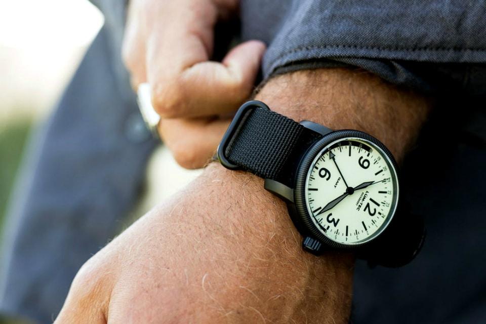 Huckberry x Lum-Tec GMT Watch