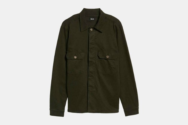 Hudson Slim Fit Shirt Jacket
