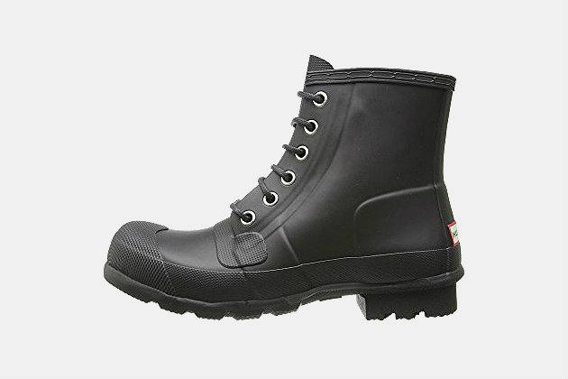 Hunter Original Rubber Lace-Up Boots