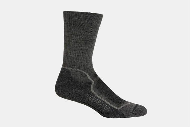 Icebreaker Men's Hike+ Light Crew Socks