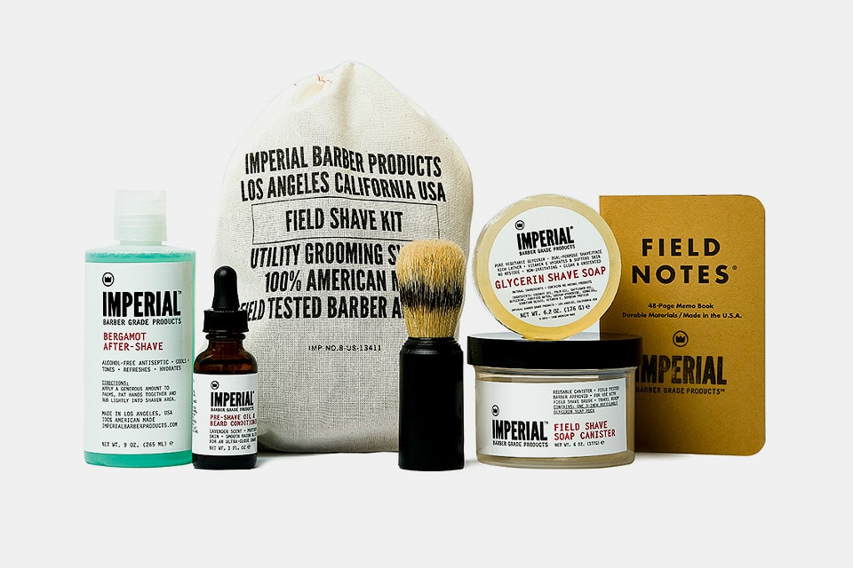 Imperial Field Shaving Kit