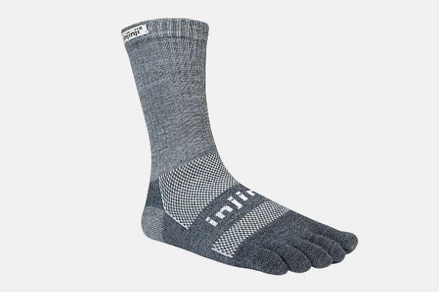 Injinji Outdoor Midweight Crew Nuwool Socks