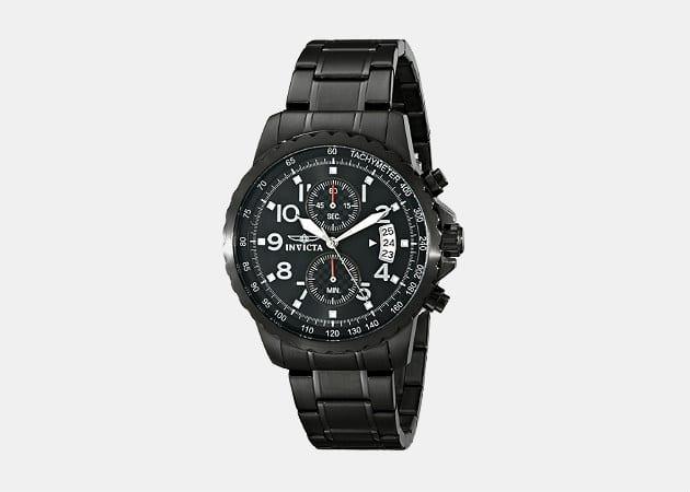 Invicta 13787 Black Stainless Steel Watch