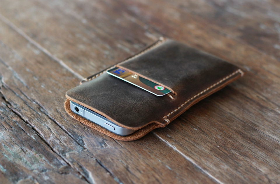 iPhone 5 Leather Protective Case