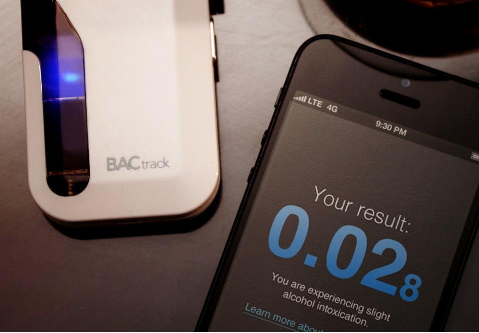 BACtrack iPhone Breathalyzer