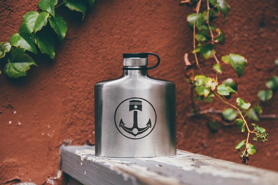 Iron & Resin Flask