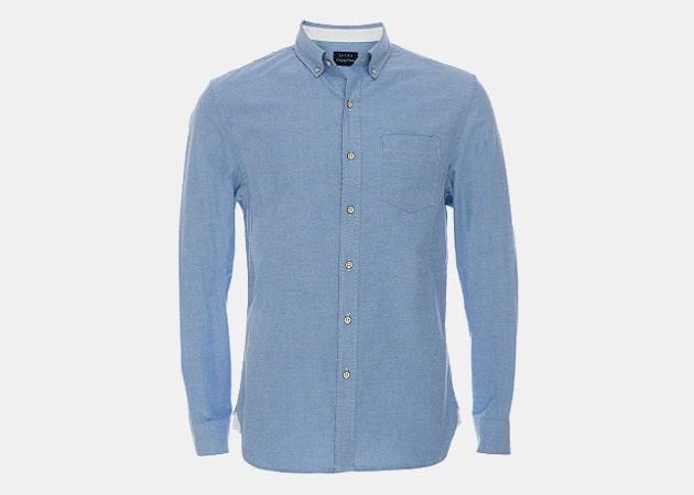 JACHS NY Blue Washed Oxford