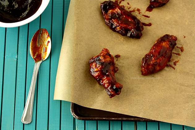 Jack Daniel's Honey Barbecue Chicken Wings
