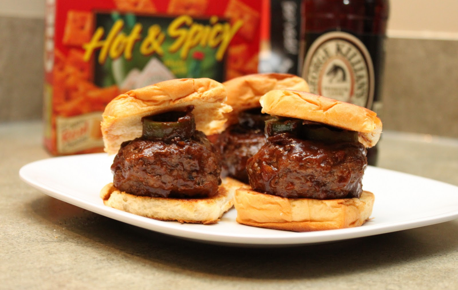 Jack Daniel's Spicy BBQ Sliders