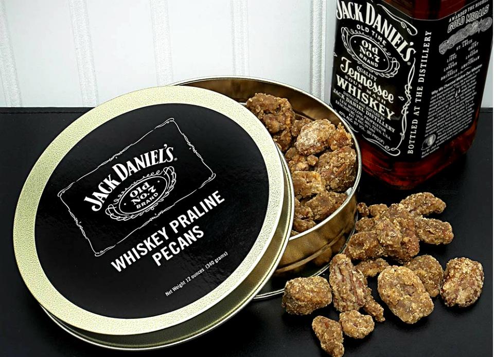 Jack Daniels Whiskey Flavored Pecans