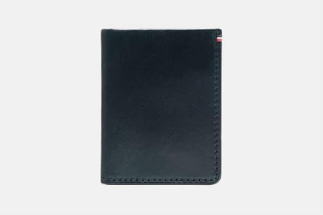 Jack Mason Leather Front Pocket Wallet