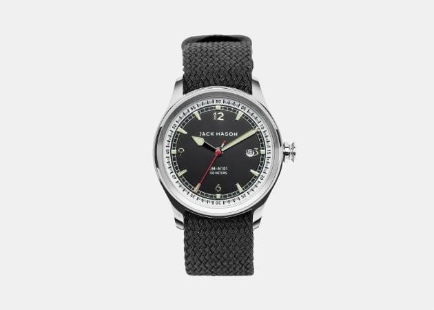Jack Mason Brand Nautical 3-Hand Watch