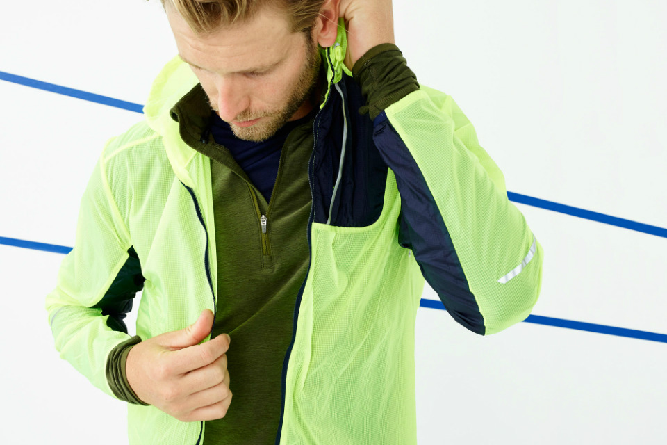 New Balance x J.Crew Lightweight Packable Jacket