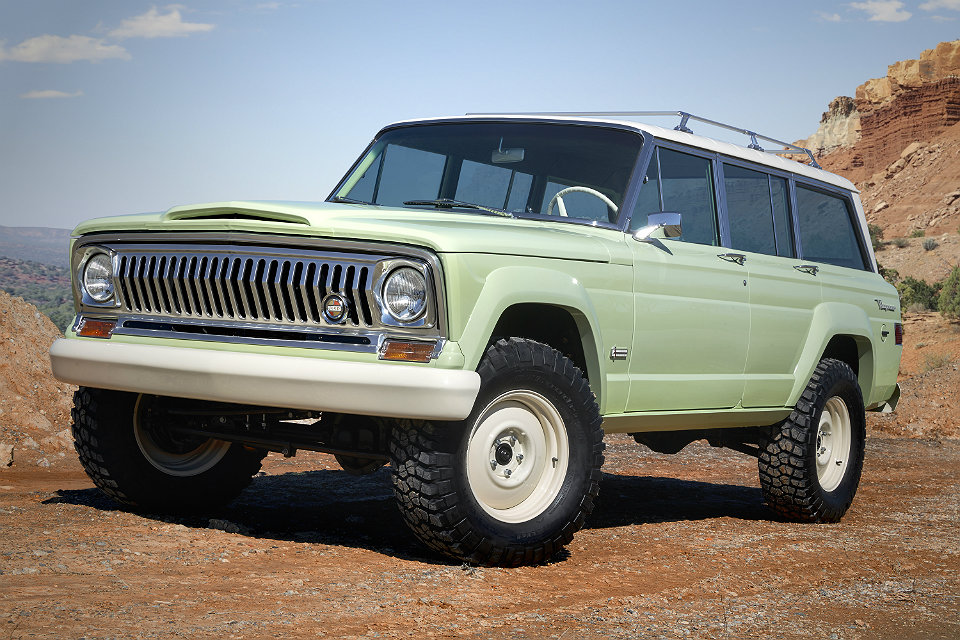 Jeep Wagoneer Roadtrip Concept