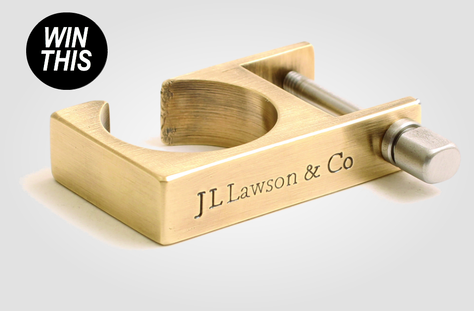 J.L. Lawson M II Brass Limited Edition Key Shackle
