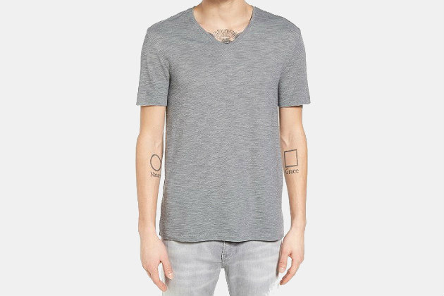 John Varvatos Star USA V-Neck T-Shirt