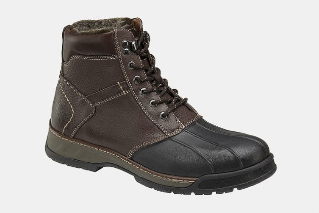 Johnston & Murphy Thompson Shearling Duck Boot