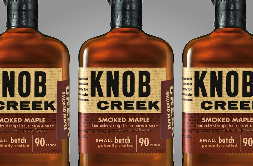 Knob Creek Smoked Maple Whiskey