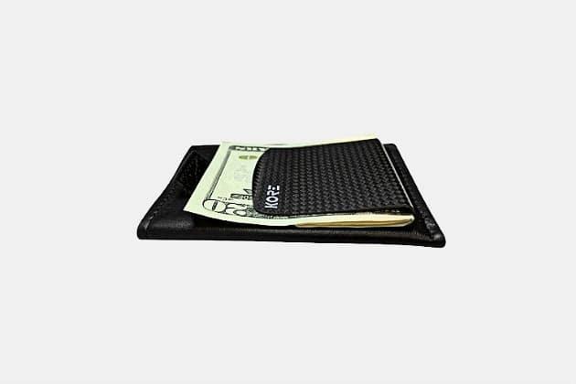 Kore Slim wallet + Carbon Fiber Money Clip