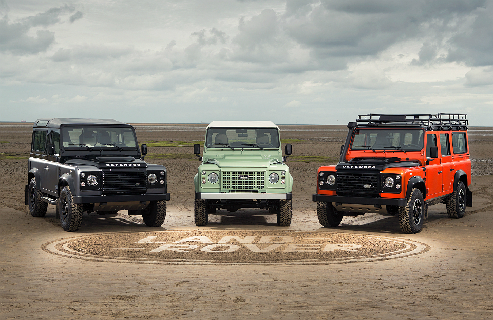 Land Rover Limited Edition Celebration Collection