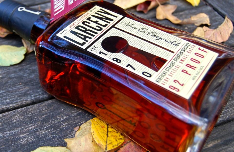 John E. Fitzgerald Larceny Bourbon Whiskey