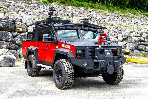 Lenco BearCat X3 FireCat