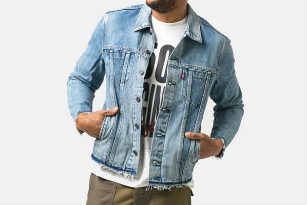 Levi's Altered Trucker Jacket