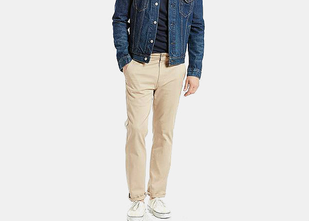 Levi's Straight Fit Stretch Chino