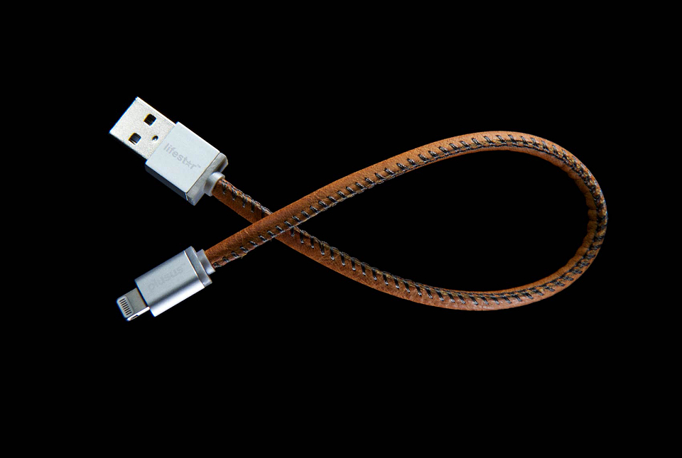 LifeStar Leather Charging Cable